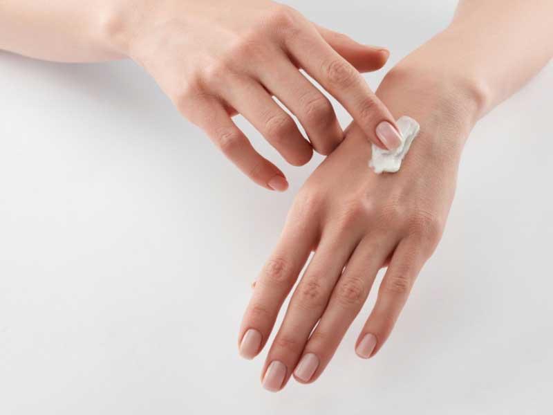 псориазис на дланите